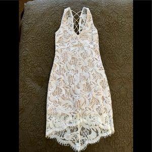 Soieblu Ivory Lace Dress